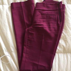 NWOT. Ann Taylor gem toned slacks.